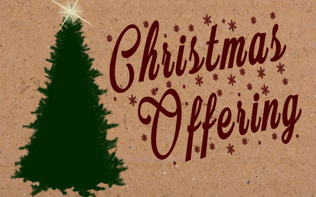 Christmas Offering Applications Available