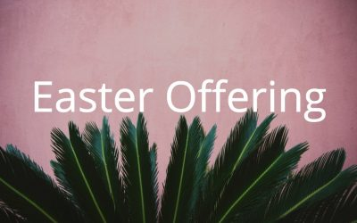 Easter Offering Applications Accepted