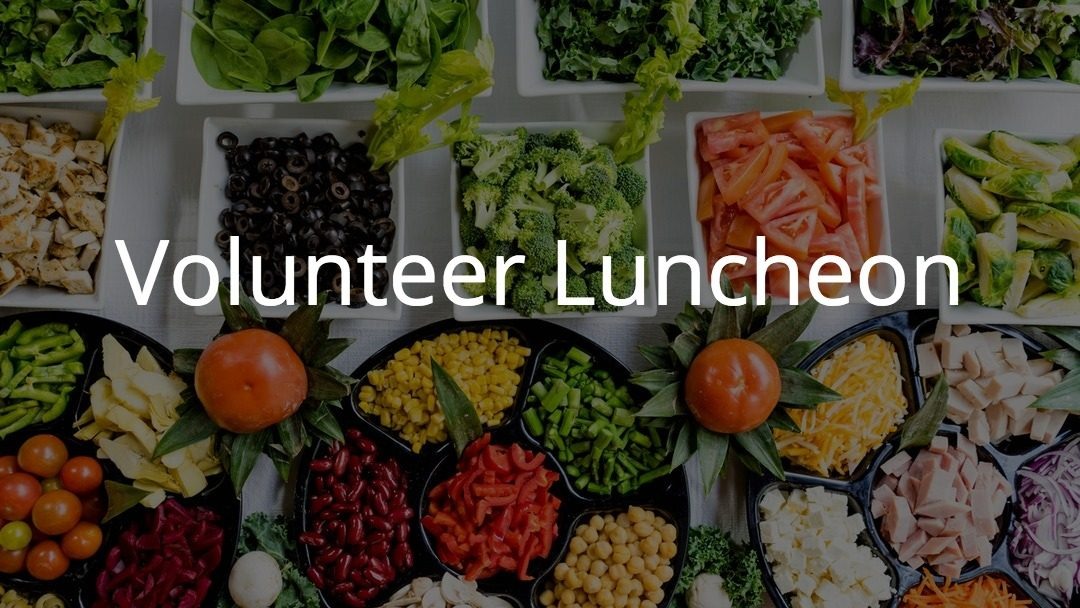 Thrift Shop Volunteer Luncheon