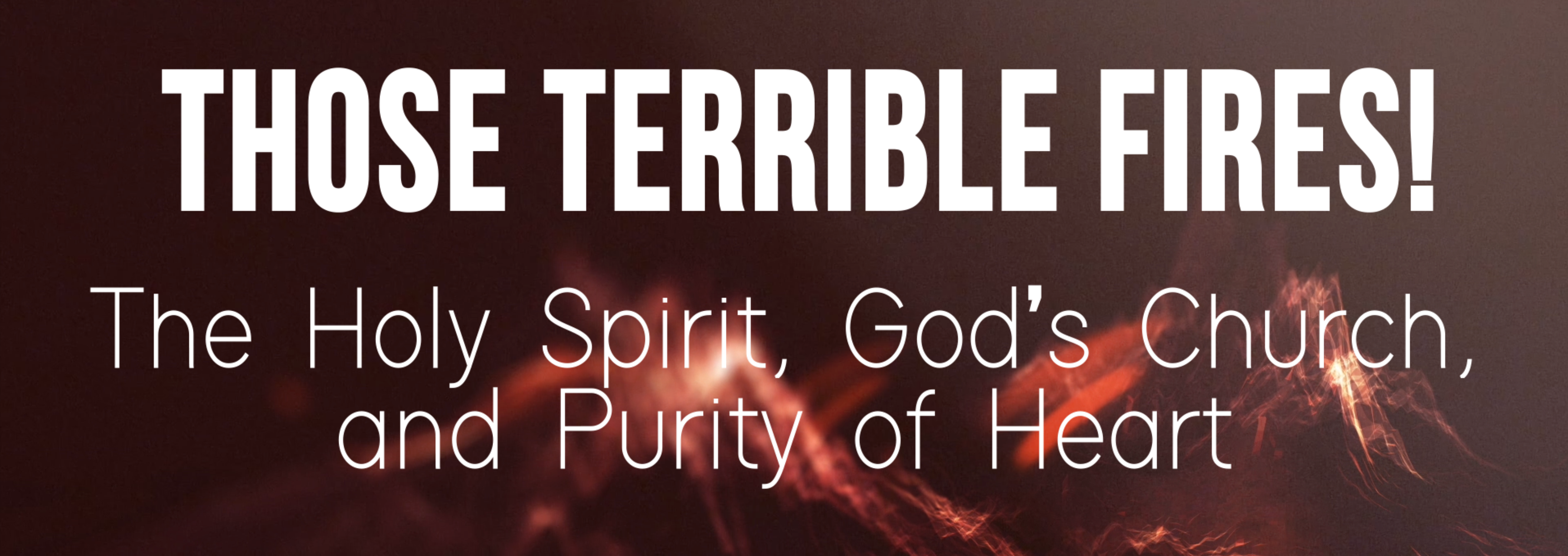 We Are Equipped to Serve God's Purposes of Redemption for His World
