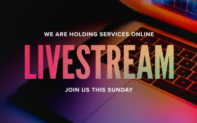 Worship Online this Weekend – No Services!!
