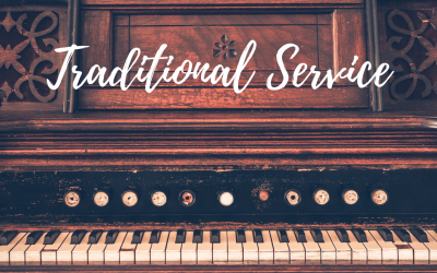 Online Traditional Service this Weekend!
