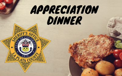 Thank You Cards needed for Durango Sheriff's Department