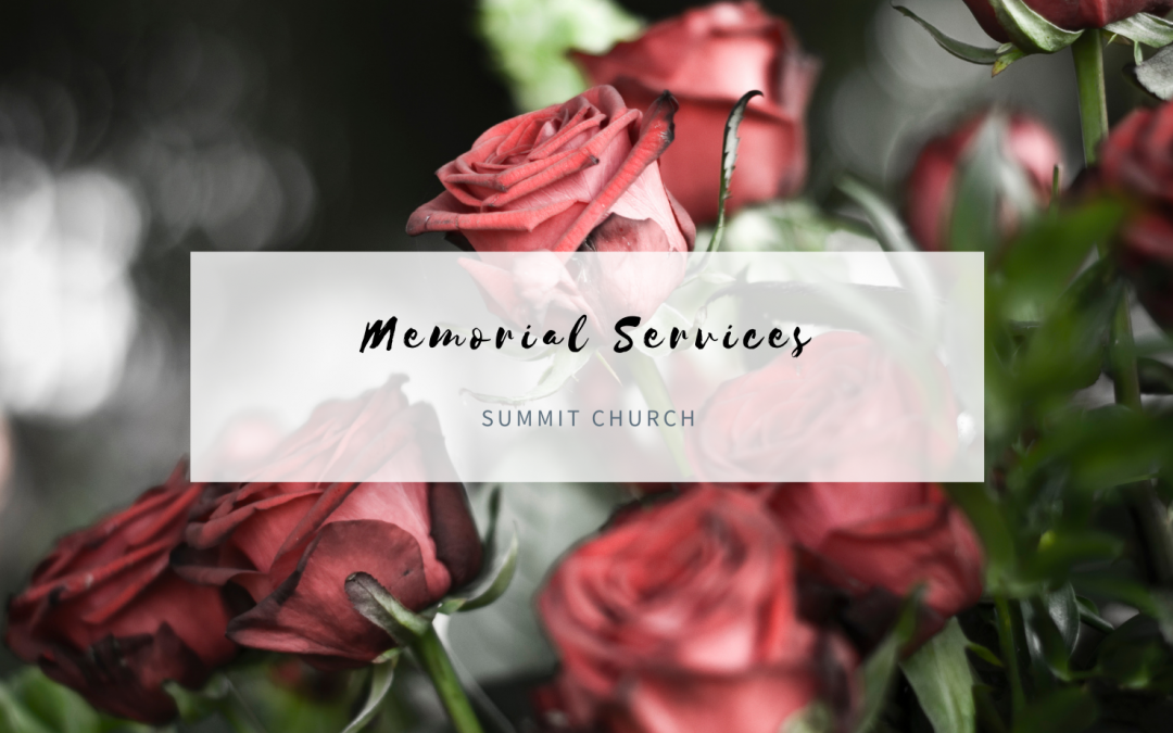 Upcoming Memorial Services